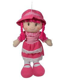 Ultra  Striped Dress Candy Doll Pink - 35 cm