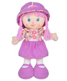 Ultra Candy Doll With Jacket Purple  - 35 cm