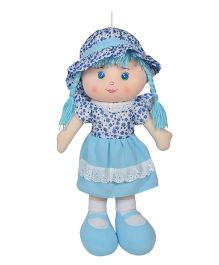 Ultra Candy Doll With Braided Hair Blue - 51 cm