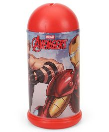 Marvel Avenger Coin Bank Iron Man Print - Red
