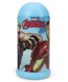 Marvel Avenger Coin Bank Iron Man Print - Blue