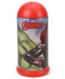 Marvel Avenger Coin Bank Hulk Print - Red