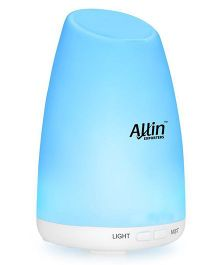 Allin Exporters 2 In 1 Ultrasonic Humidifier & Aroma Diffuser - White