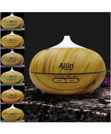 Allin Exporters Ultrasonic Humidifier & Aroma Diffuser With 7 Colour Changing Lights - Multicolour