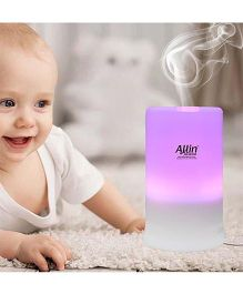 Allin Exporters Electric Ultrasonic Diffuser And Humidifier With 7 LED Lights - Multicolour