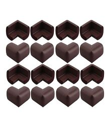 Quaprogen Foam Table Corner Protector Brown - Pack Of 16