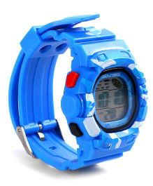 Digital Wrist Watch - Royal Blue