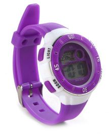 Digital Wrist Watch - Purple