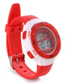 Digital Wrist Watch - Red