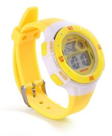 Digital Wrist Watch - Yellow