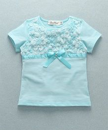 Domeiland Floral Print Top - Blue