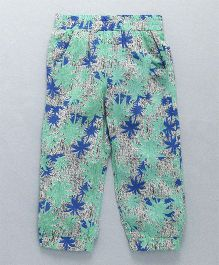 Domeiland Tree Print Pant - Green