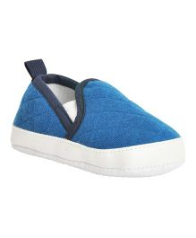 Kiwi Quilted Slip-On Shoes - Blue