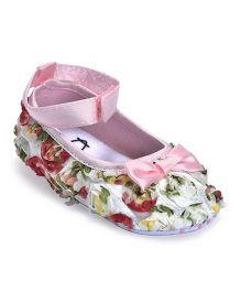 Kiwi Floral Slip-On Bellies - Multicolor