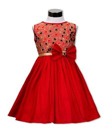 The Kidshop Morning Glory Floral Dress - Red