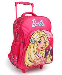 Barbie Trolley School Bag - 16 Inches