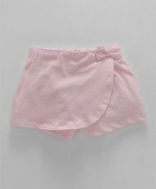 Fox Baby Short Length Skort - Light Pink