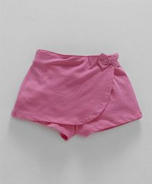 Fox Baby Short Length Skort - Pink