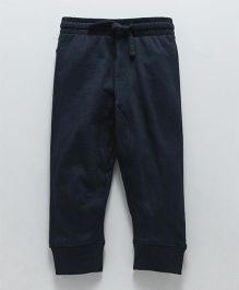 Fox Baby Full Length Lounge Pant With Drawstring - Navy Blue