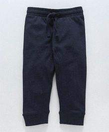 Fox Baby Full Length Lounge Pant With Drawstring - Blue Melange