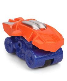 Playmate Friction Toy Car - Orange Silver