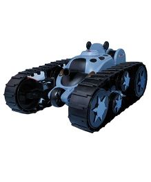 Emob Space Rover Remote Control Battle Stunt Tank Toy - Blue