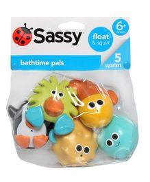 Sassy Bathtime Pals - Multicolor