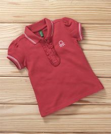 UCB Short Sleeves Polo Tee - Red
