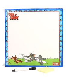 Tom & Jerry 2 In 1 Writing Board With Ladder Game - Multi Colour