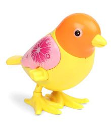 Playmate Jumping Bird Wind Up Toy - Yellow