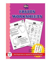 Creativity 4 Tots Fruit Worksheets - English
