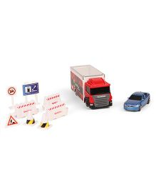 RMZ Scania Truck Launcher With BMW M5 - Blue Red