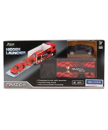 RMZ Scania Truck Launcher With Audi R8 - Red Black