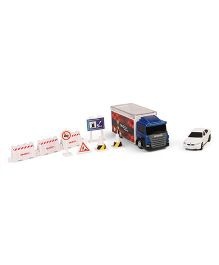 RMZ Scania Truck Launcher With BMW M5 - Blue White