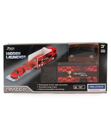 RMZ Scania Truck Launcher With BMW M5 - Black