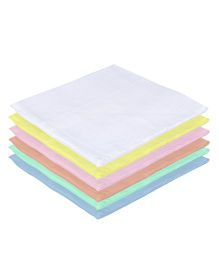Lula Reusable Muslin Square Napkins Multicolour - Pack of 6