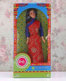 Barbie In India Fashion Doll Sikkim Theme With DIY Kit Red - 30 cm