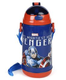Marvel Sipper Water Bottle Avengers Print Blue - 600 ml