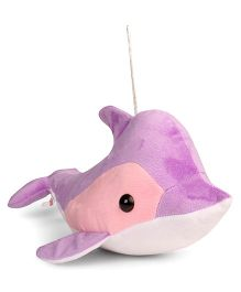 Ultra Hanging Dolphin Soft Toy Orchid - Length 40.64 cm