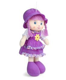 Ultra Candy Doll With Hat Purple - Height 50.8 cm