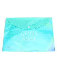 File Packet Mouse Print - Green