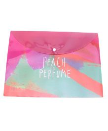 File Packet Peach Perfume Print - Pink