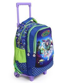Toy Story Trolley School Bag Green Blue - 16.5 Inches