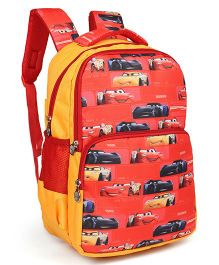 Disney Pixar Cars School Bag Red - 17 inches