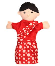 IR  Mother Hand Puppet Red - 40 cm