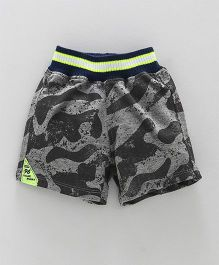 Little Kangaroos Shorts Camouflage Print - Grey