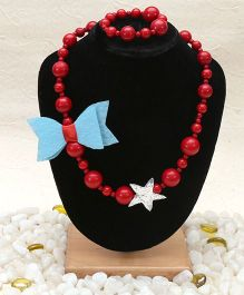 D'Chica Jewellery Set - Red