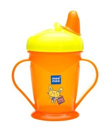 Mee Mee Easy Grip Sipper Cup Orange - 180 ml
