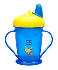 Mee Mee Easy Grip Sipper Cup Blue Yellow - 180 ml