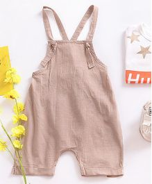 Pre Order - Awabox Crossback Dungaree -  Light Khaki